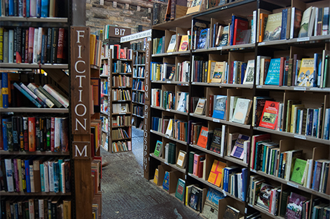 Lose yourself in literature at Barter Books