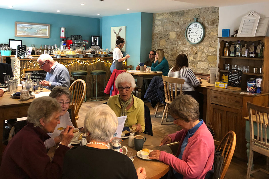 Bertram's Cafe, Warkworth, Northumberland