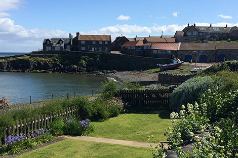 Start your walk from the beautiful village of Craster