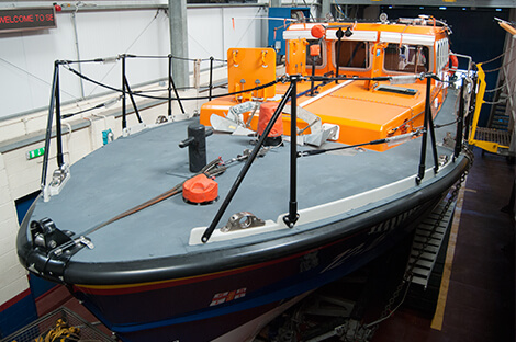 The RNLB Grace Darling lifeboat