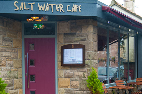 Salt Water Cafe, Beadnell, Northumberland