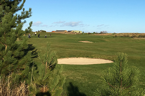 Seahouses Golf Course, Northumberland