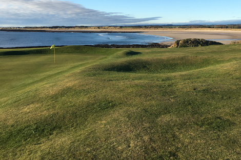 Wonderful views from Seahouses Golf Course